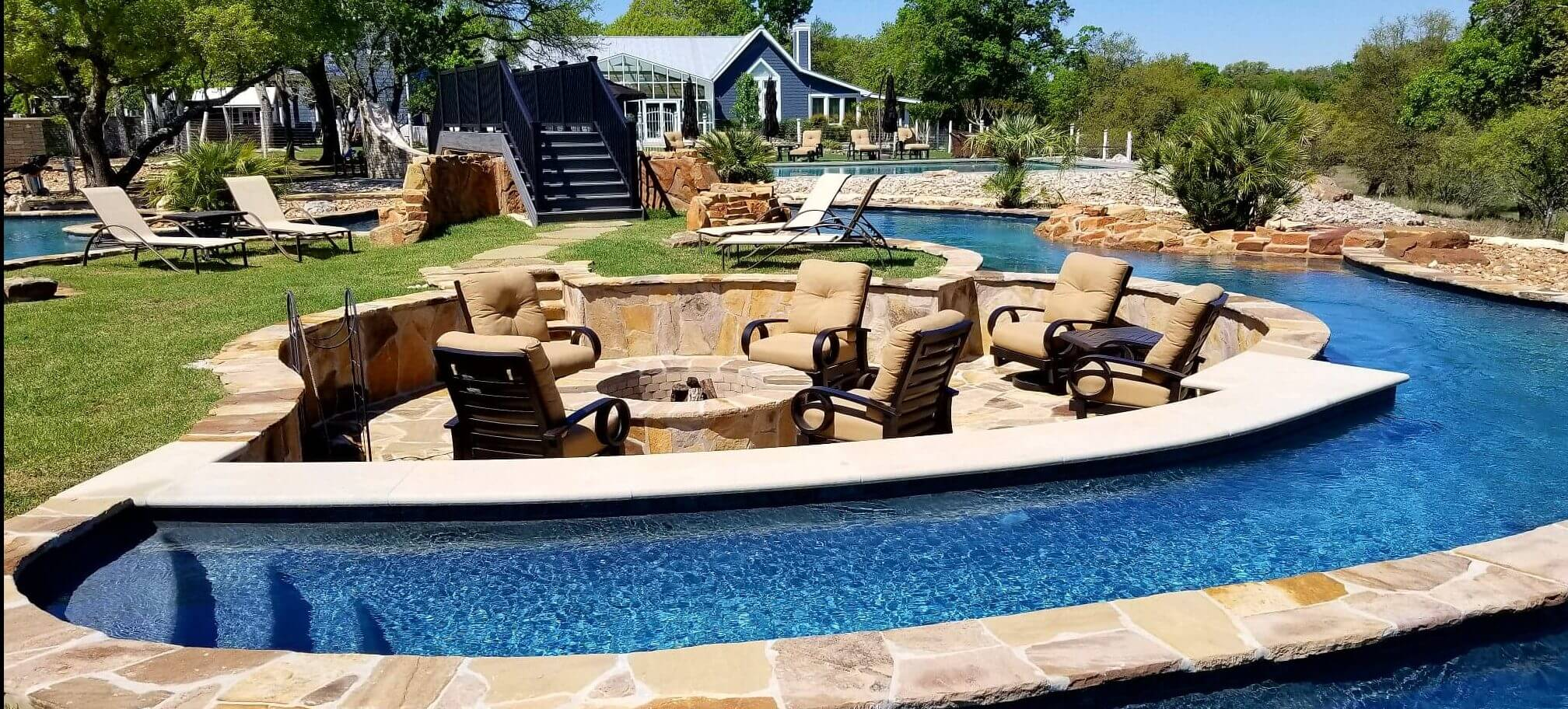 Nationally syndicated show pool kings features keith zars for Pool kings design