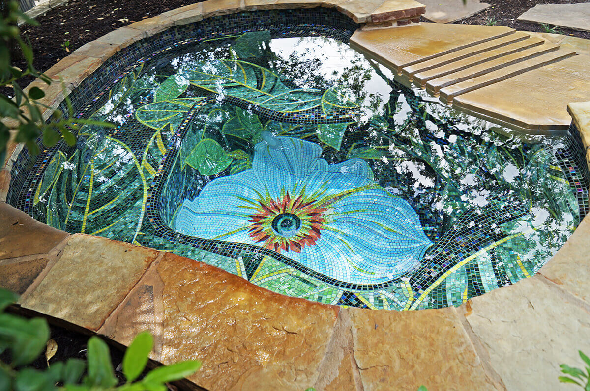 Keith Zars Pools Introduces State-Of-The-Art Custom Mosaic Tile Line
